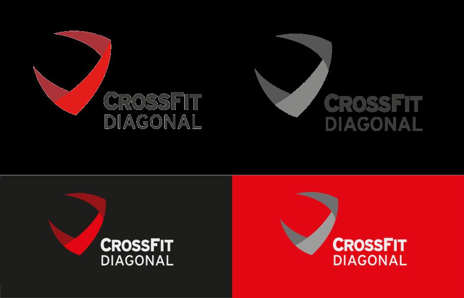 branding crossfit diagonal barcelona logo aplicaciones1 950x612 - Proyecto global de comunicación para CrossFit Diagonal