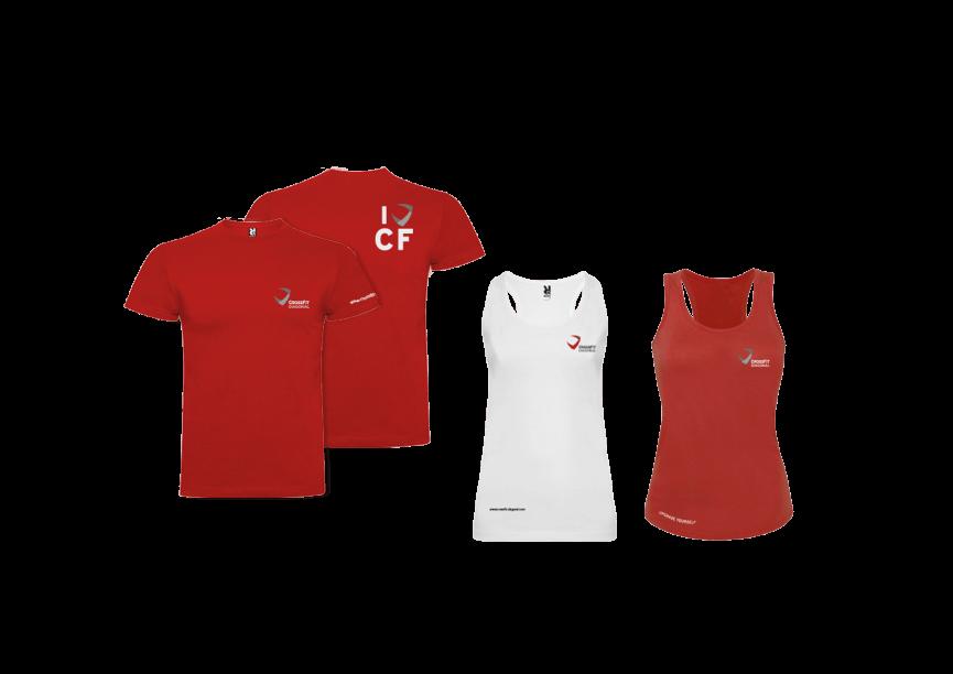 branding crossfit diagonal barcelona merchandising camisetas hombre mujer1 865x612 - Proyecto global de comunicación para CrossFit Diagonal