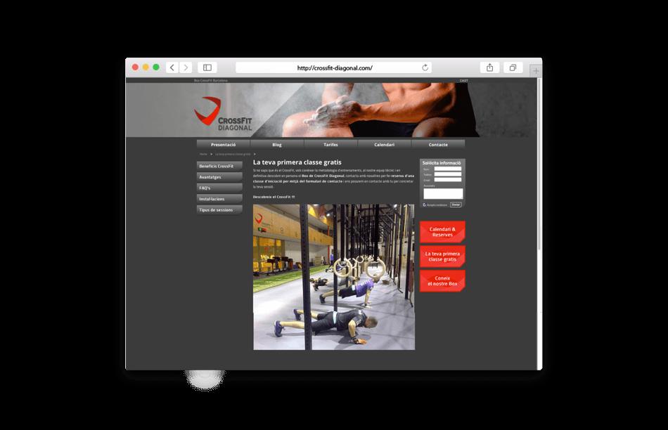 branding crossfit diagonal barcelona web instalaciones 950x612 - Proyecto global de comunicación para CrossFit Diagonal