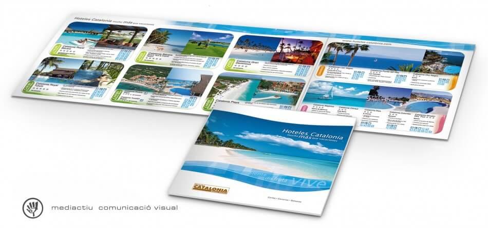 folleto HC 950x445 - MediActiu crea la nueva campaña de verano de Hoteles Catalonia