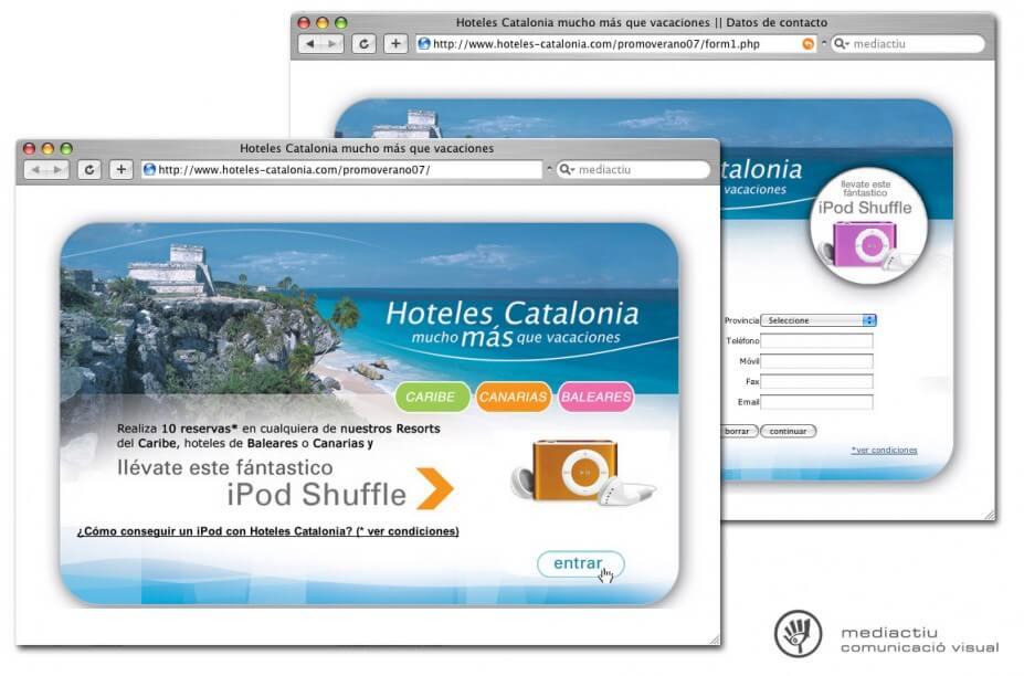 microsite HC 927x612 - MediActiu crea la nueva campaña de verano de Hoteles Catalonia