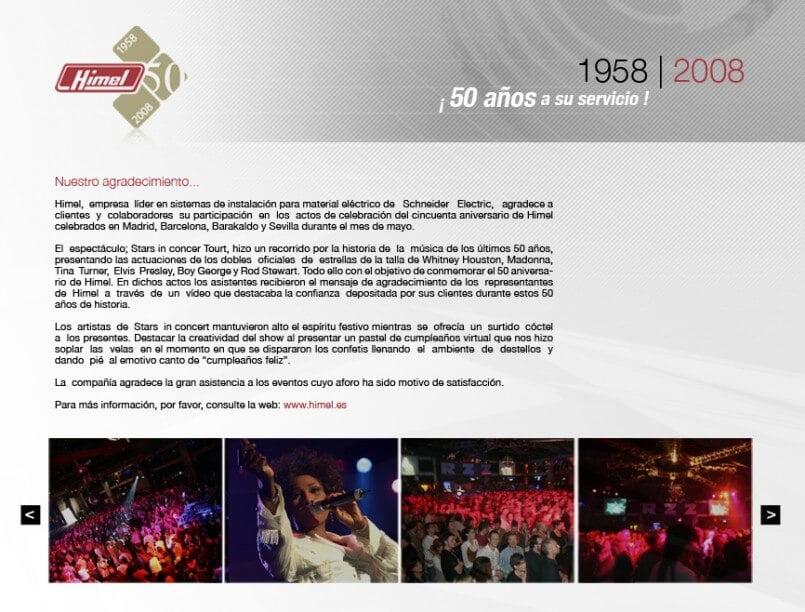 himel50 805x612 - Mediactiu desarrolla la campaña del 50 aniversario de Himel