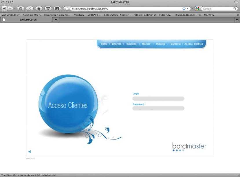 Acces clients 829x612 - Mediactiu crea la nueva imagen corporativa y el website de Barcimaster