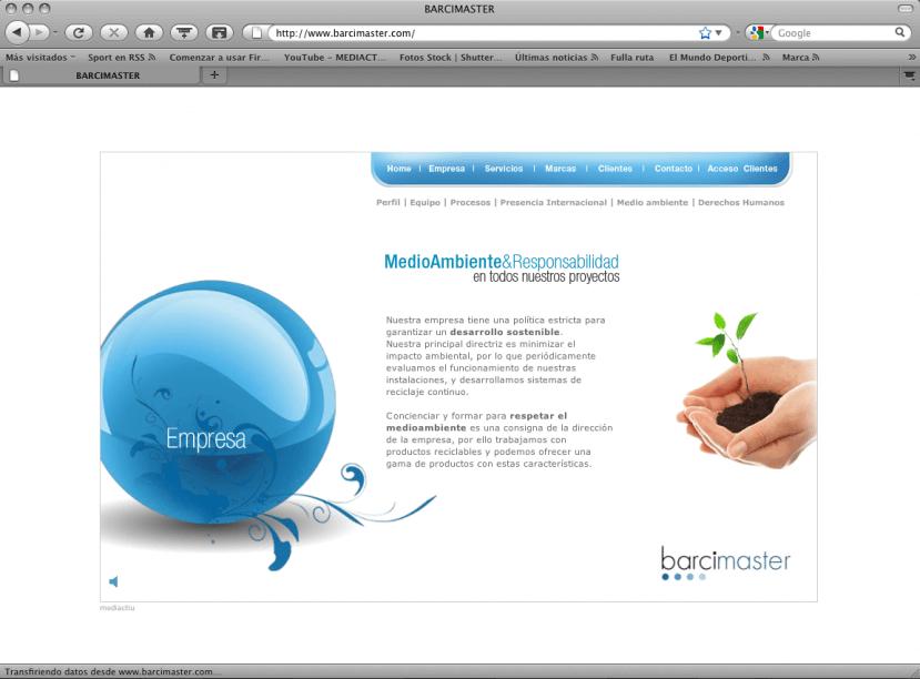 Home menu2 829x612 - Mediactiu crea la nueva imagen corporativa y el website de Barcimaster
