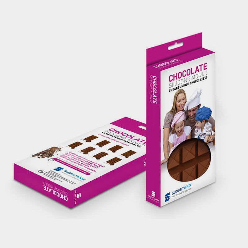 diseno de pack de producto alimentacion - Packaging para moldes alimentarios
