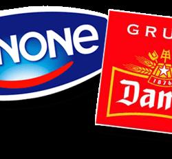 """logo danone Damm 250x231 - El branding y sus """"parecidos asombrosos"""""""