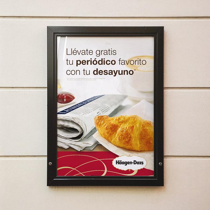 diseno de poster negocio - Diseño de elementos de comunicación