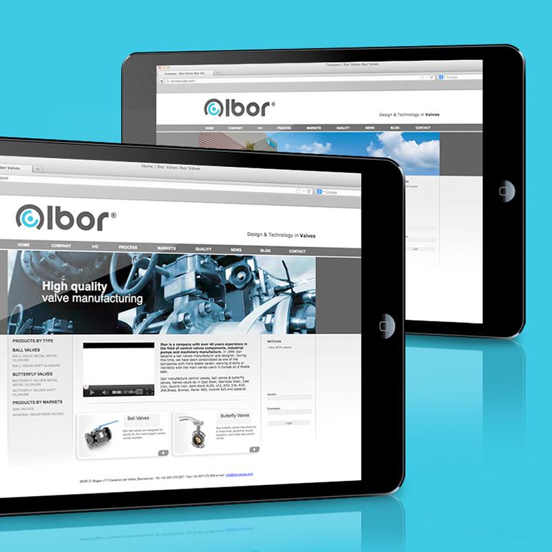 diseno de website industrial - Diseño web para empresa industrial