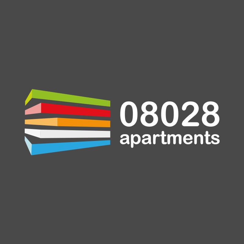 diseno logotipo hotel barcelona - Desarrollo de señaletica para apartahotel