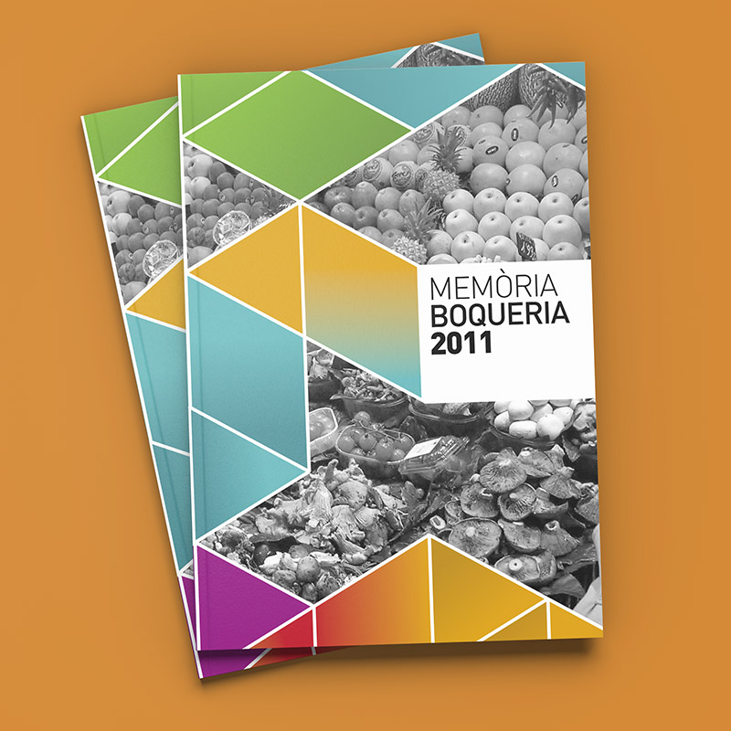 diseno memoria boqueria - Diseño y maquetación de catálogo
