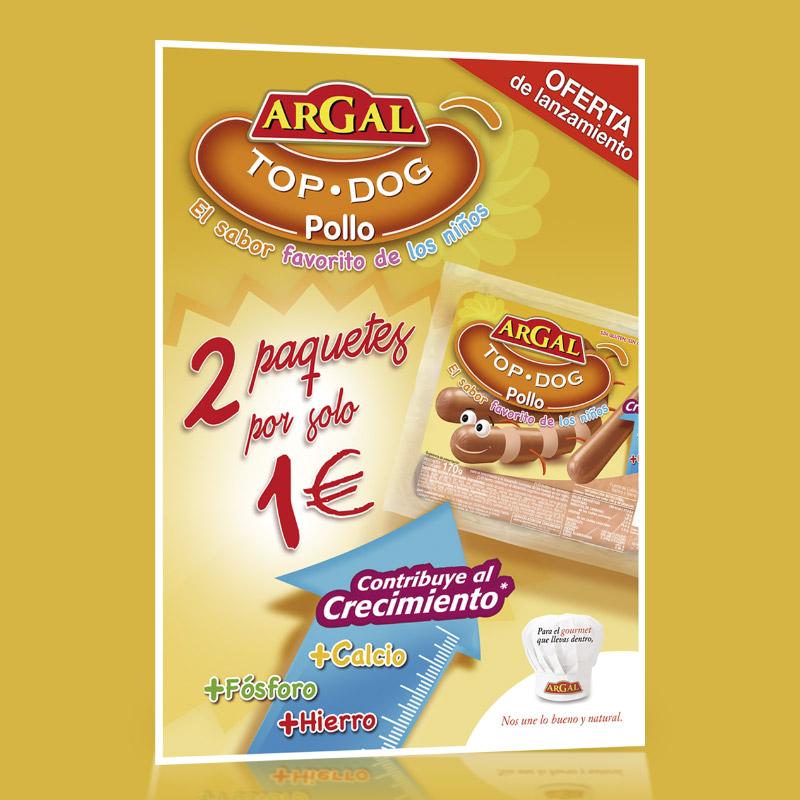 diseno posters campana promocion - Campaña promocional para Argal