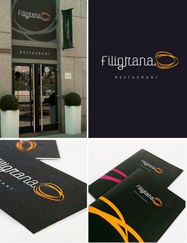 filigrana - Comunicación e imagen corporativa para el Restaurant Filigrana