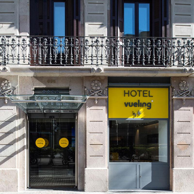 rotulacion hotel barcelona - Rotulación y elementos comunicativos para hotel