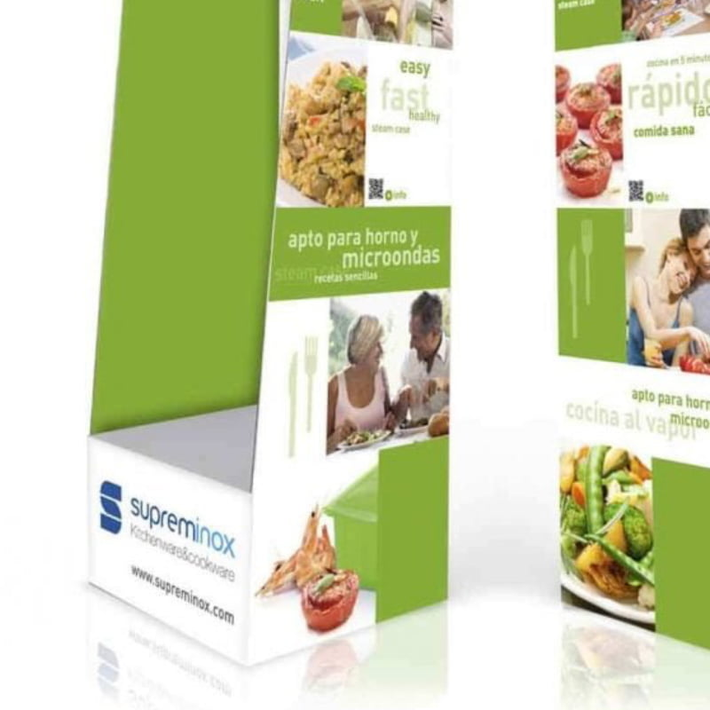 supreminox packaging - Diseño de packaging expositor