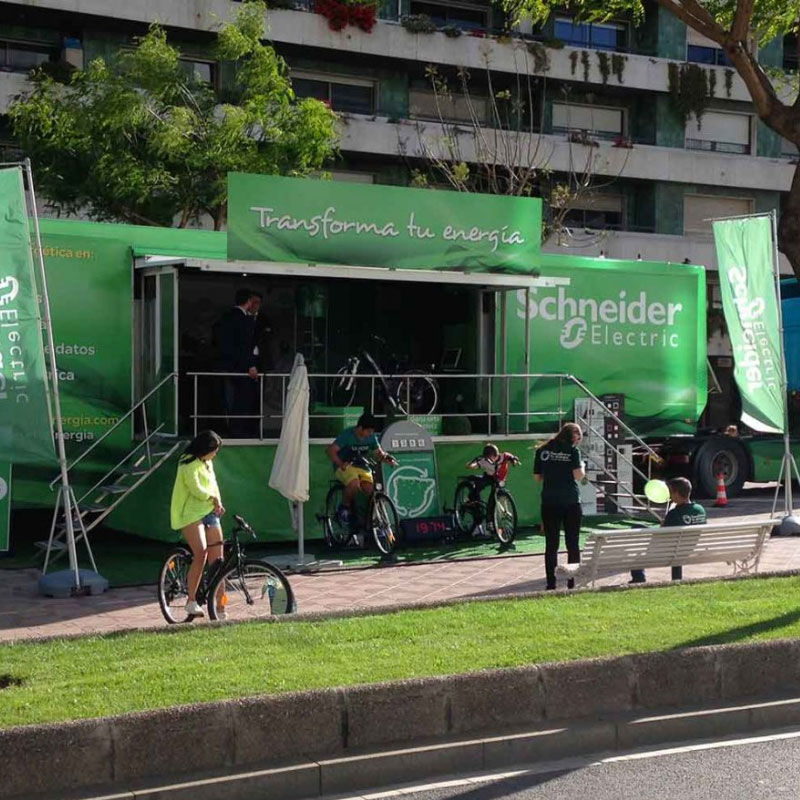diseno produccion evento industrial - Road Show - Experience Efficiency Schneider Electric