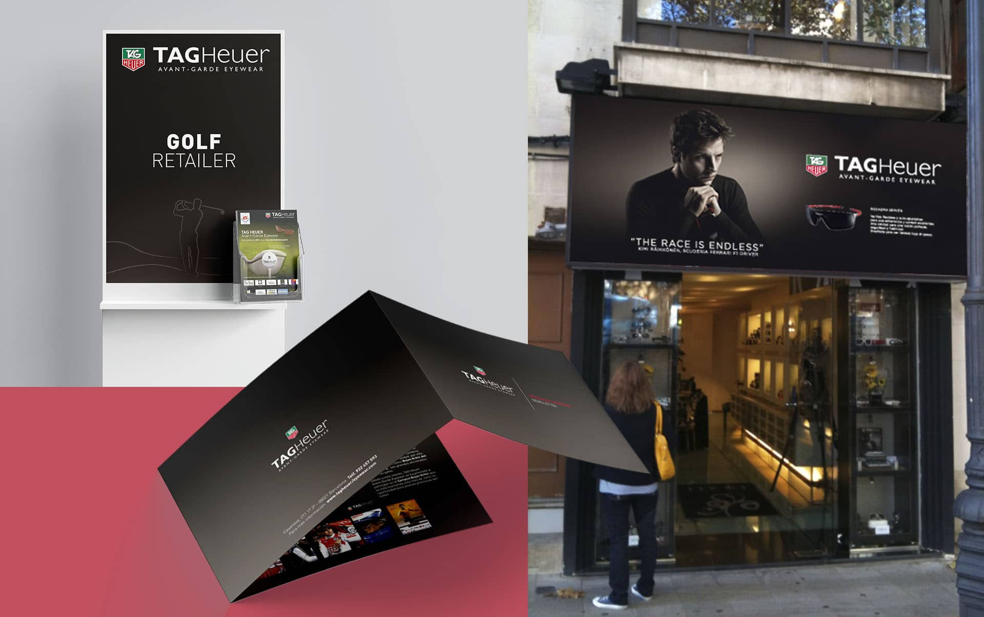 03 escaparates para sector optico barcelona - Estrategia de comunicación promocional