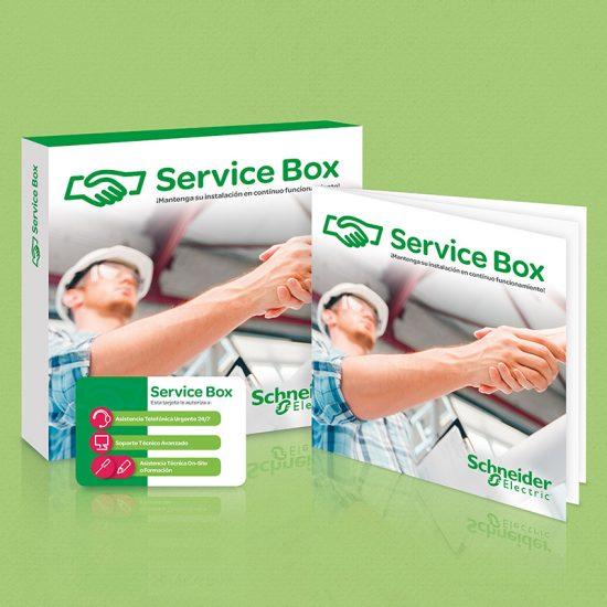 diseno de elemento marketing directo 550x550 - Campaña promocional Service Box