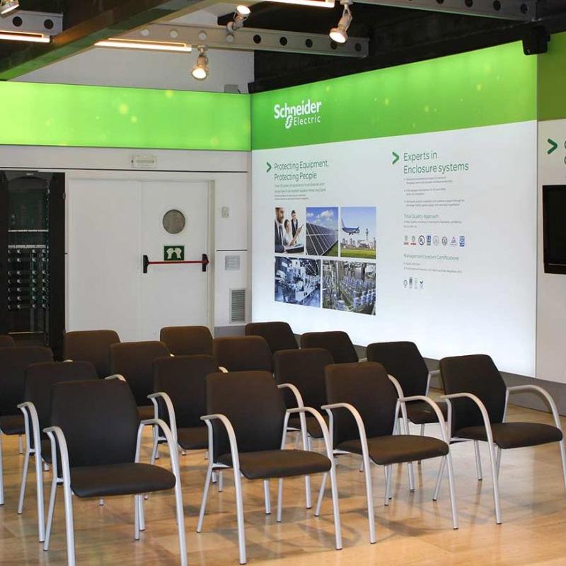 diseno produccion de evento presentacion - Evento Schneider Electric de presentación de productos