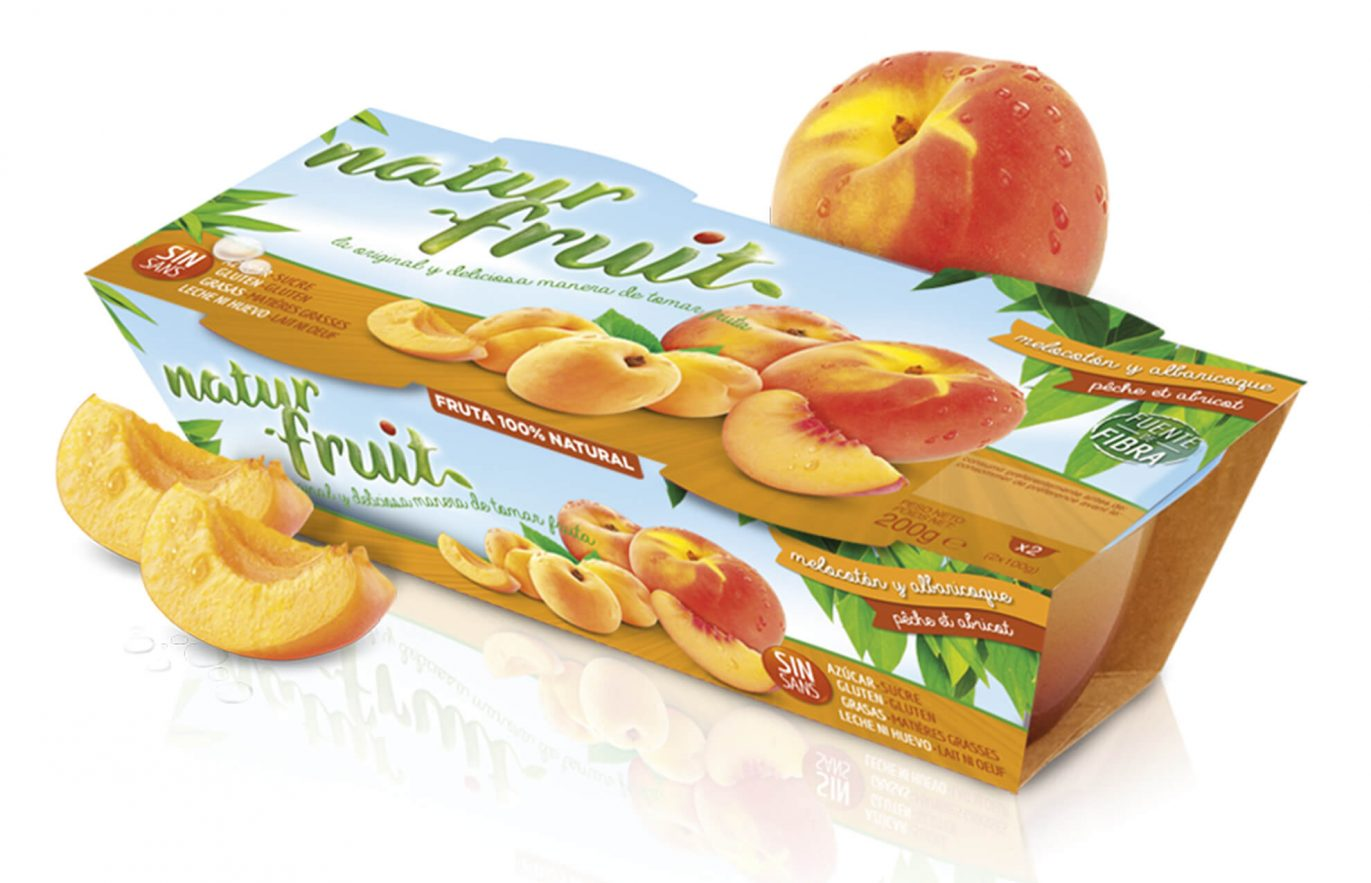 Naturfruit_melocoton packaging design