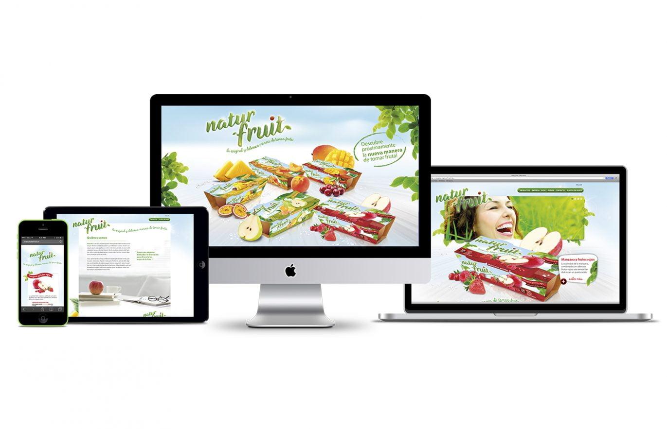 Naturfruit_web design_ui