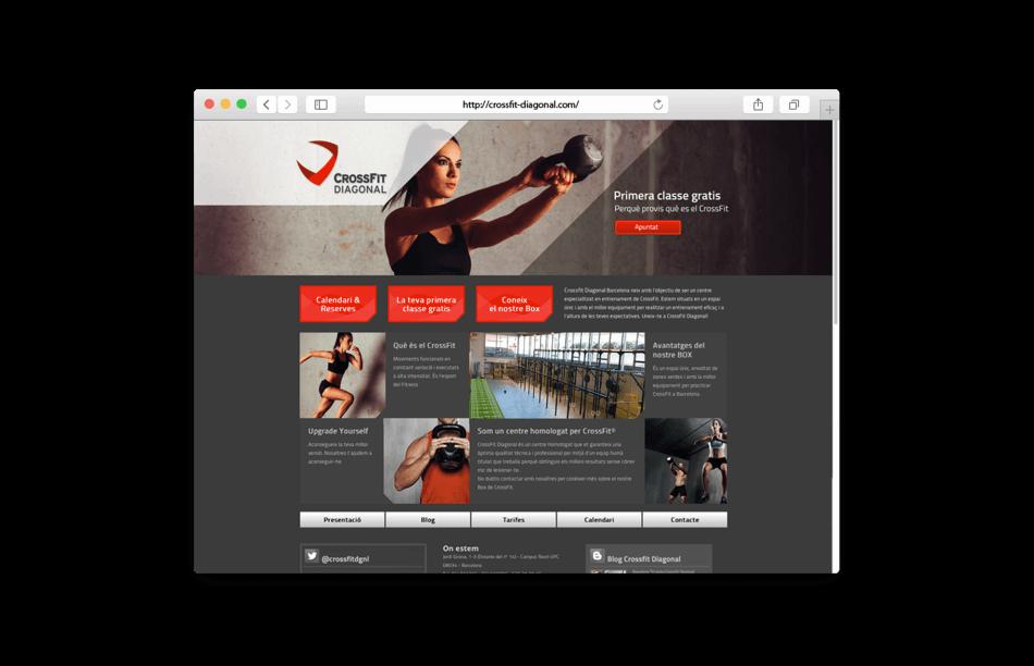 branding crossfit diagonal barcelona web home 950x612 - Proyecto global de comunicación para CrossFit Diagonal