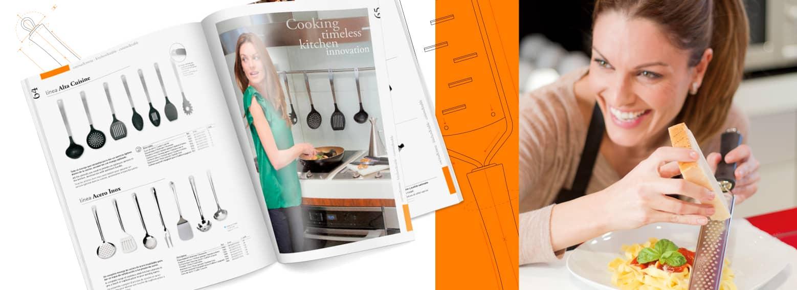 02 catalogo de productos para sector horeca - Diseño y maquetación de catalogo de productos