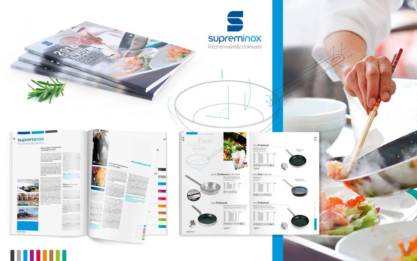 03 Catalogo Supreminox productos para restauracion 1371x860 - Diseño y maquetación de catalogo de productos