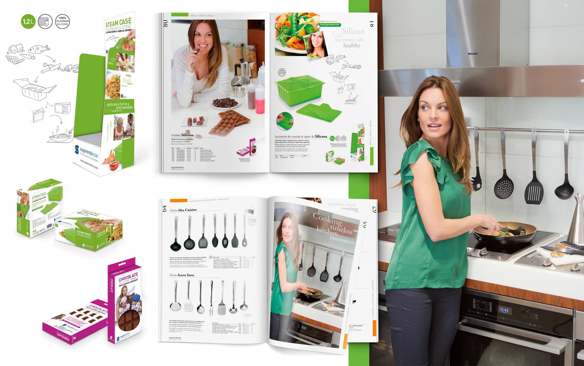 03 Catalogo promocional de productos Supreminox - Diseño y maquetación de catalogo de productos