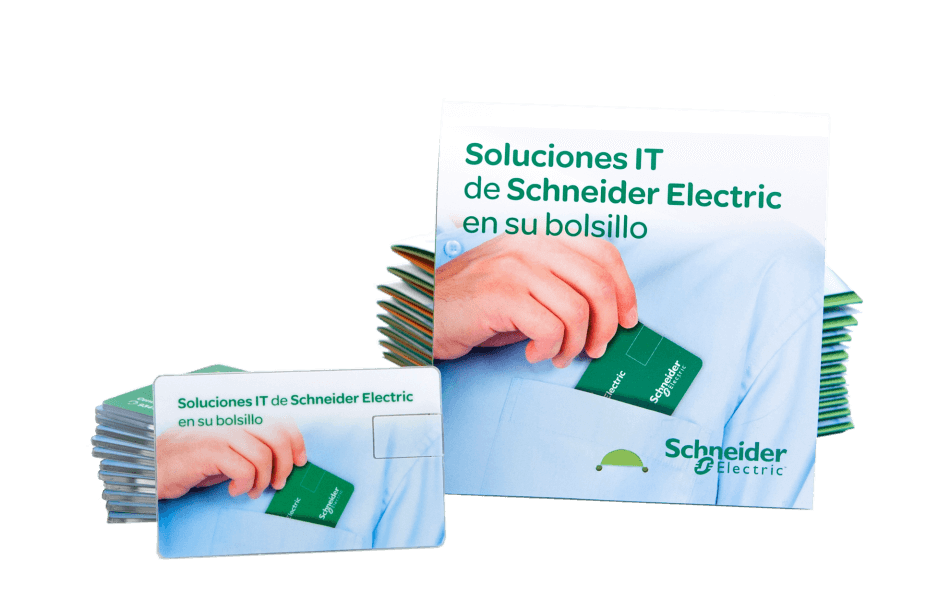 Pack IT Schneider electric packaging mediactiu usb design 950x612 - El pack como elemento comercial, marketing directo para Schneider Electric
