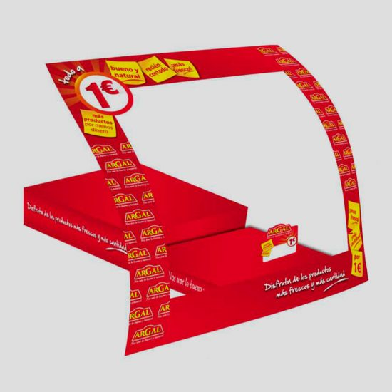 creacion de plv para lineal tienda 550x550 - Diseño y producción para PDV