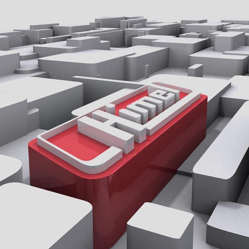 diseno de elementos 3D - Creación de logotipo 3D