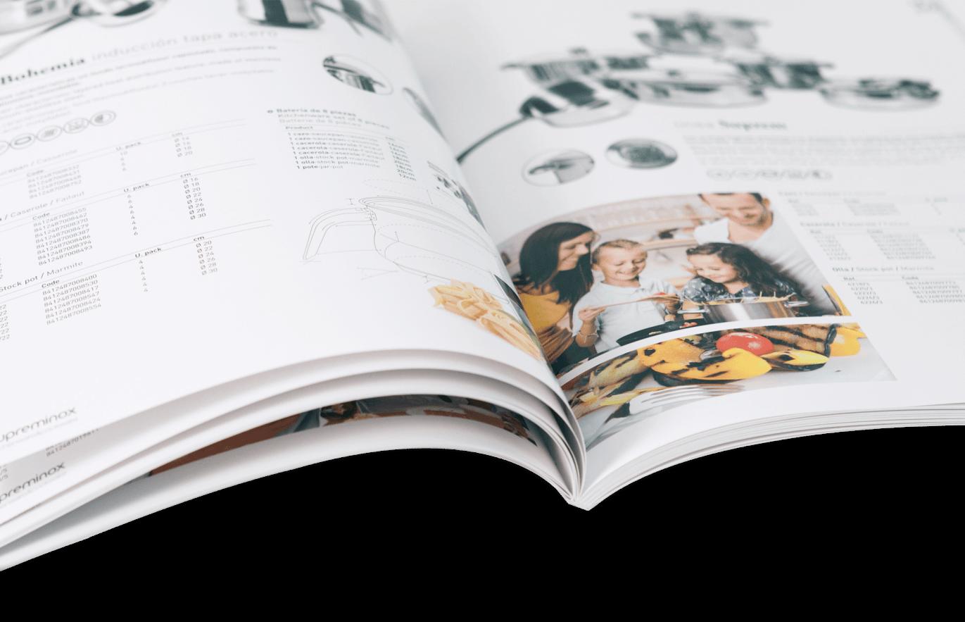 supreminox disseny editorial detalle interno2 1371x883 - Diseño y maquetación de catalogo de productos