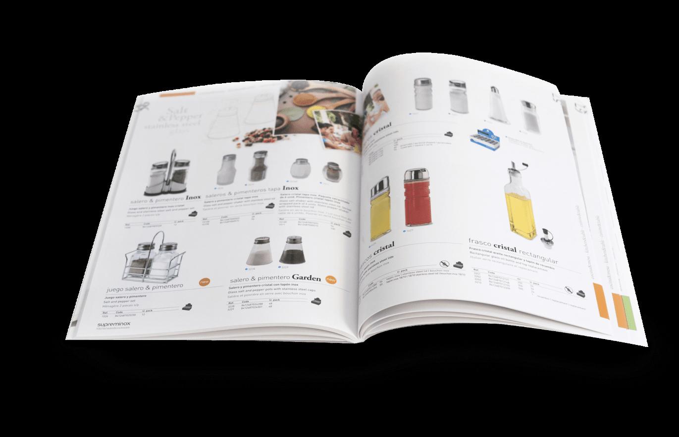 supreminox disseny editorial interior 2 1371x883 - Diseño y maquetación de catalogo de productos