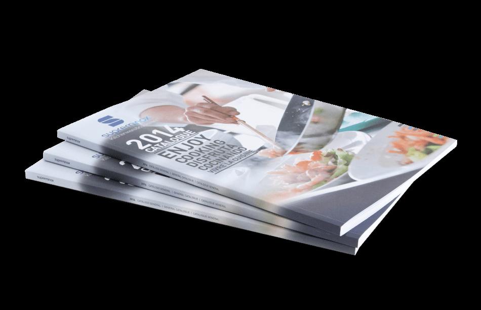 supreminox disseny editorial portada1 950x612 - Diseño del Catálogo de Supreminox 2014