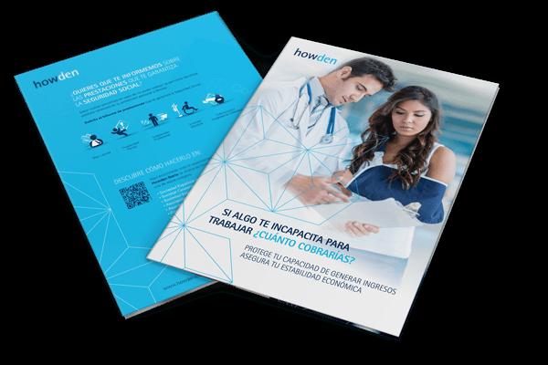 ubk howden correduria de seguros redesign restyling catalogue editorial folleto 2 - Comunicación e imagen para la fusión de Howden Iberia y UBK