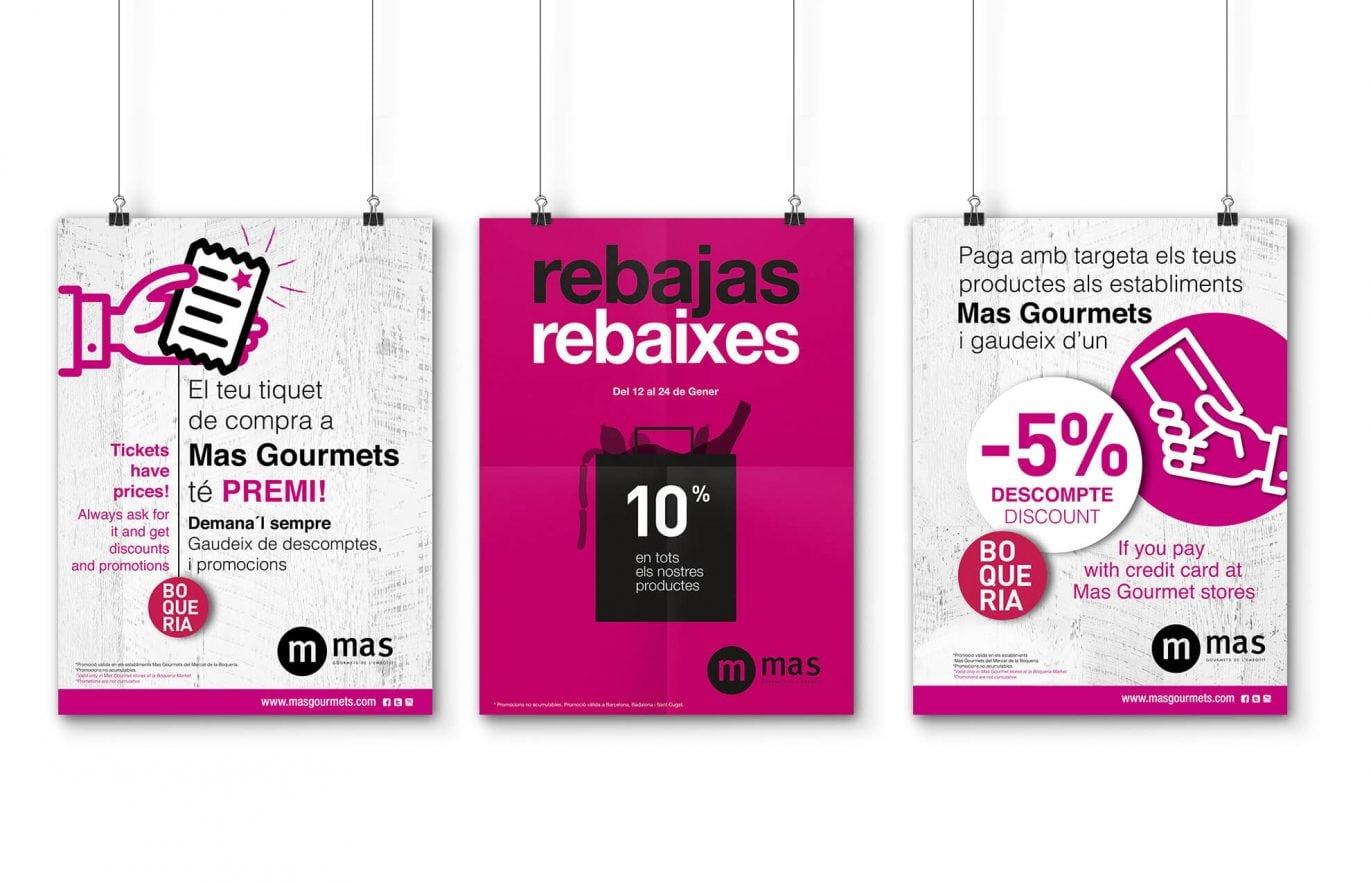 estudi-de-disseny-grafic-barcelona-cartell-alimentacio-mas-gourmets