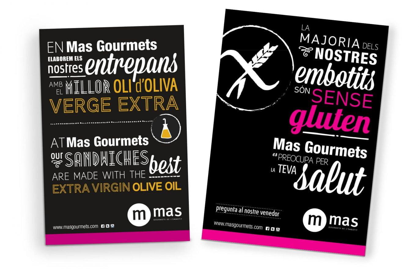 poster-tipografico-mas-gourmets-diseno-grafico