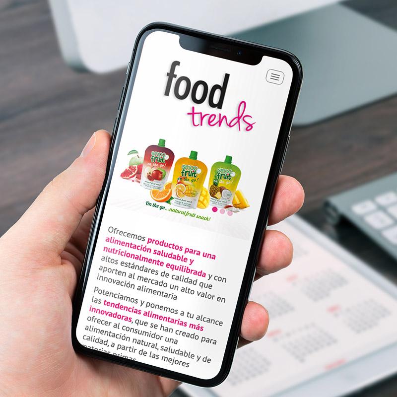 diseno de website alimentacion jpg - Planificación y desarrollo de website