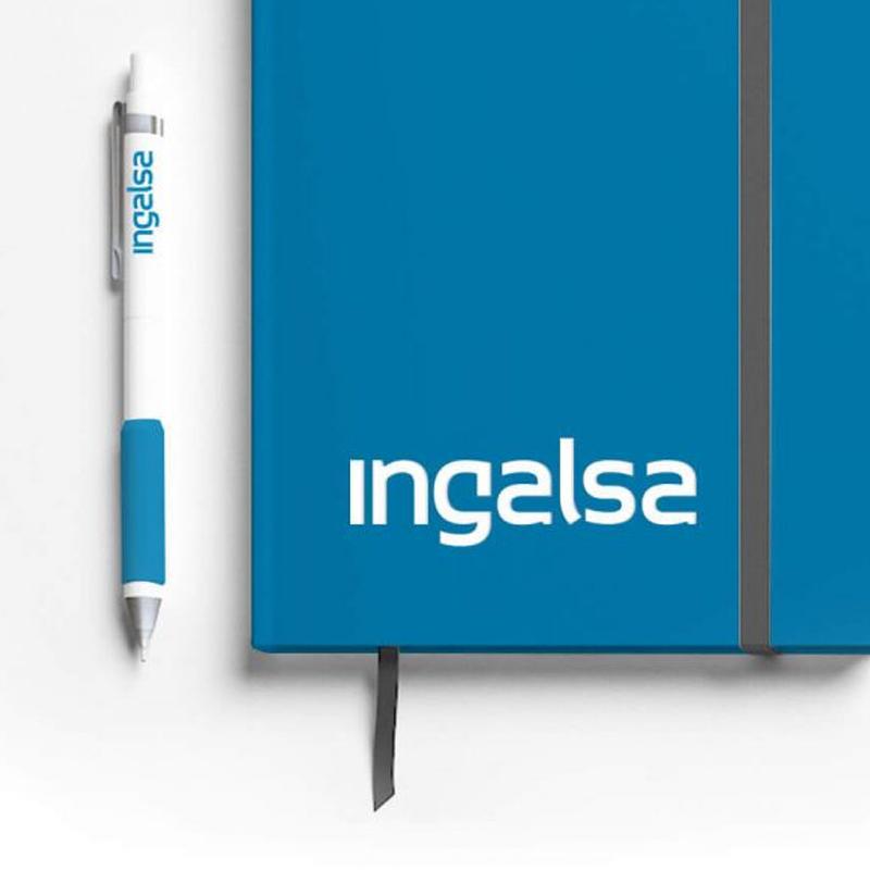 diseno de logotipo para empresa industrial - Restyling y aplicación en elementos corporativos