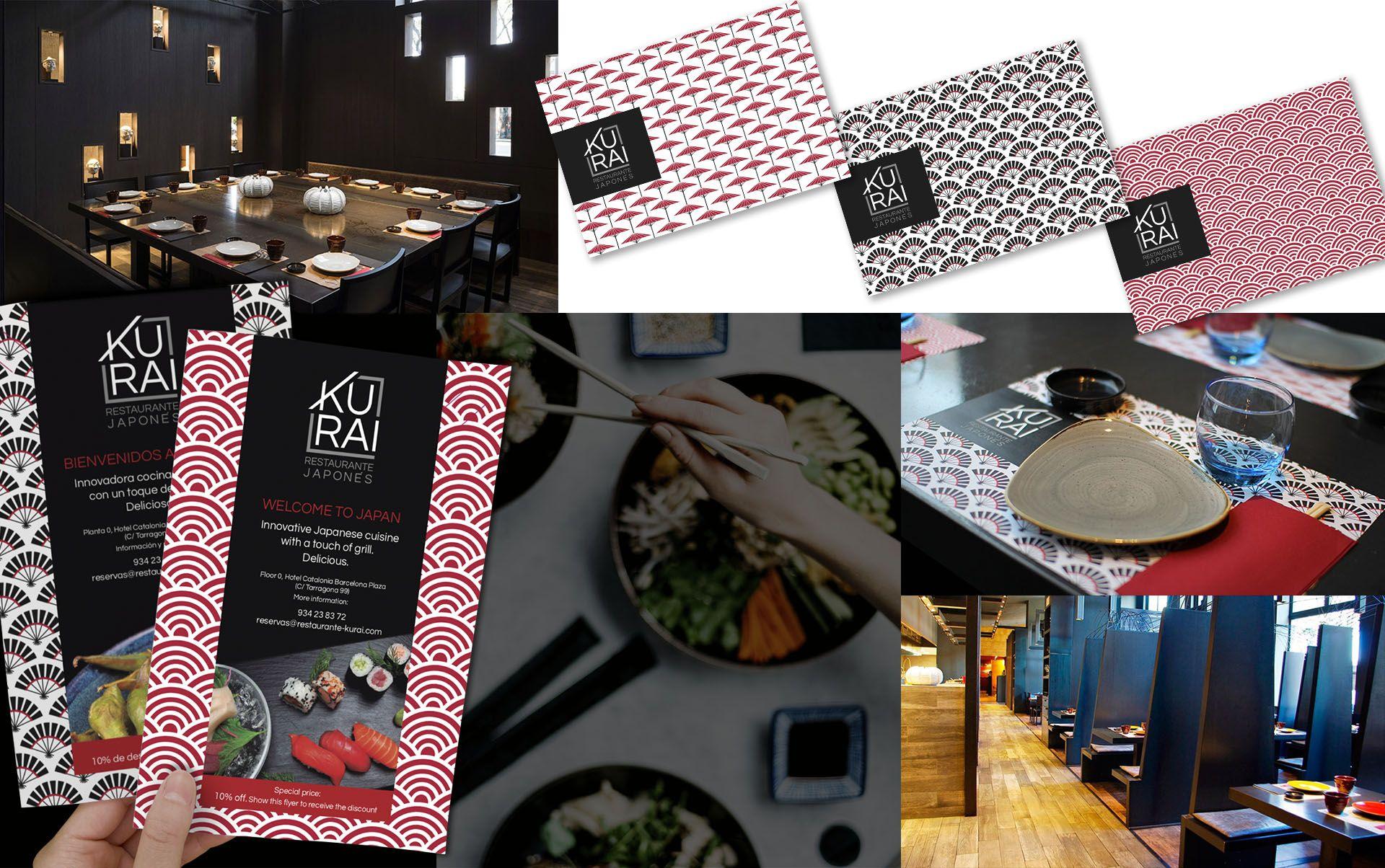 03 Marca para restaurante Japones - Creación de branding para restaurante