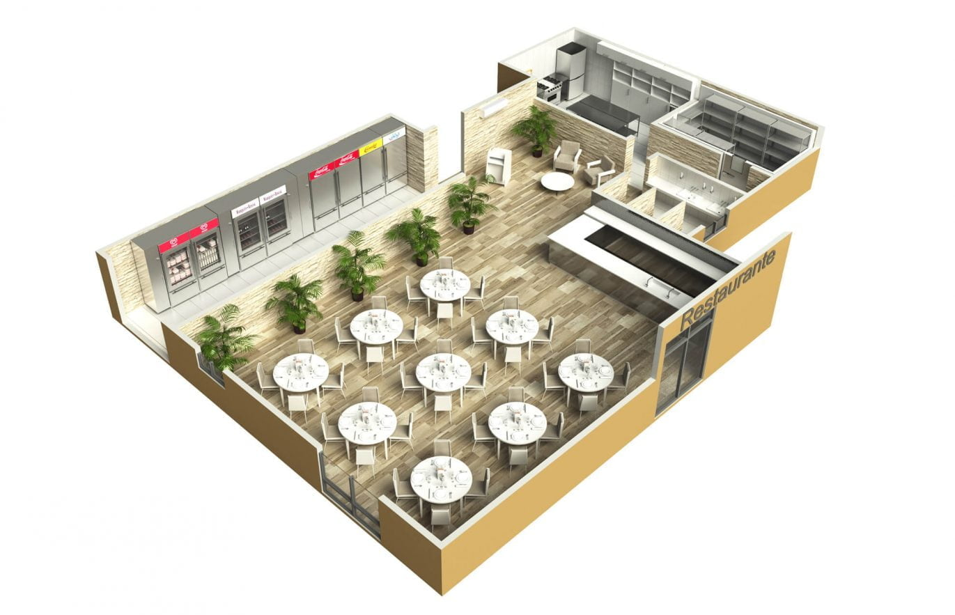 3D-Restaurant-render-expositor