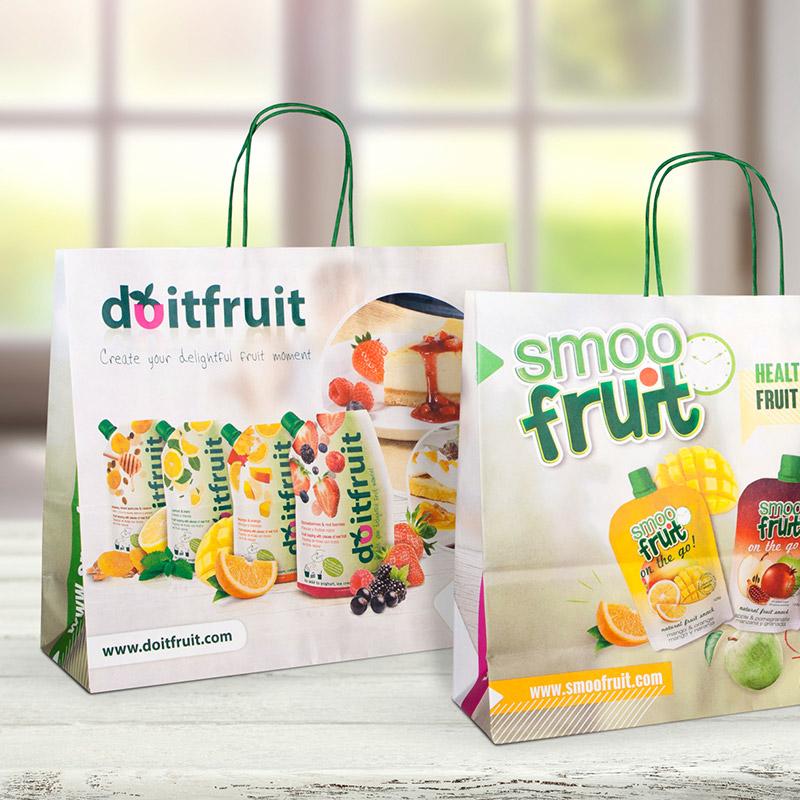 diseno de bolsa corporativa - Elementos para acciones comerciales de Expafruit