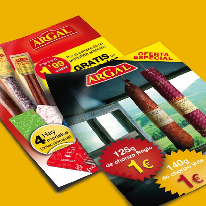 carteles promocionales alimentacion - Carteles para campaña promocional
