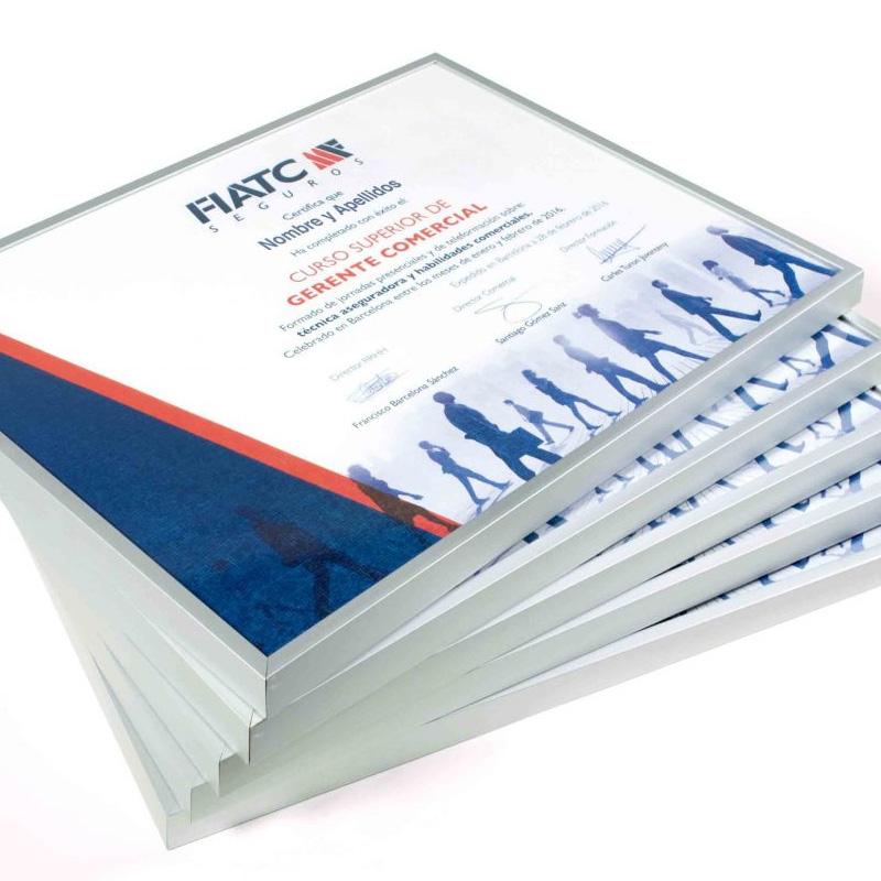 diseno de diploma barcelona - Diseño y producción de diplomas RRHH