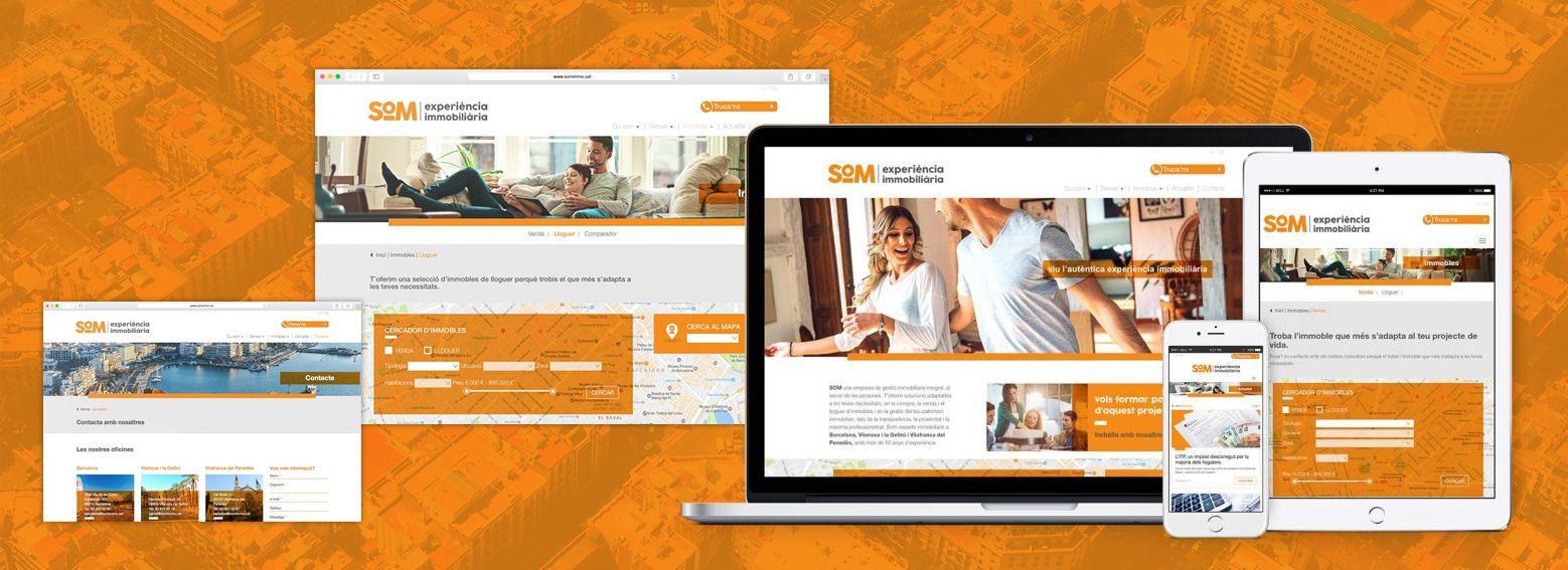 diseno para immobiliaria - Naming, branding, registro de marca, aplicaciones de marca...