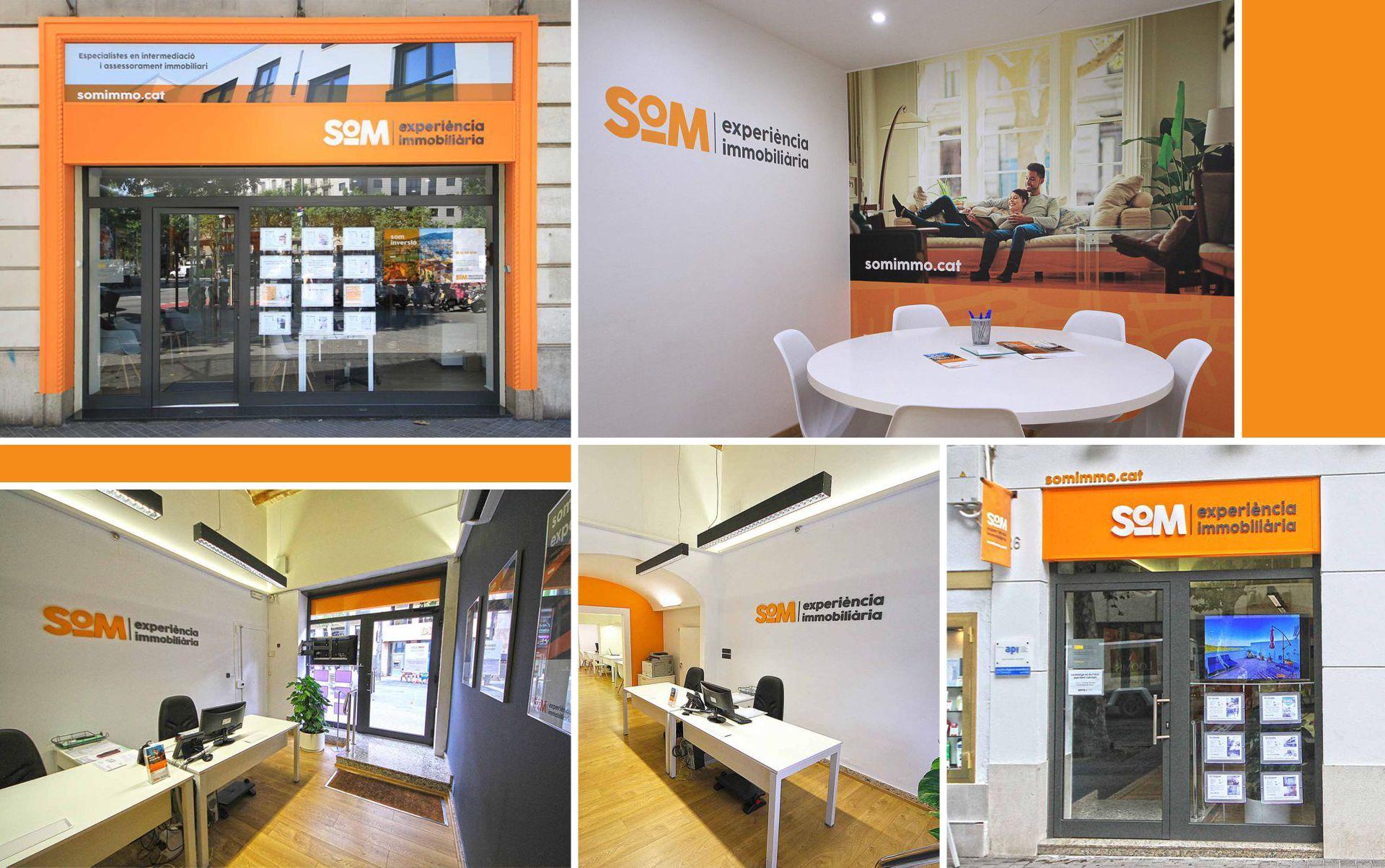 inmobiliaria barcelona rotulacion - Naming, branding, registro de marca, aplicaciones de marca...