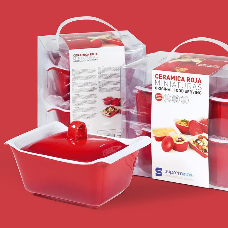 diseno de packaging producto horeca - Fajas Miniaturas Cerámica