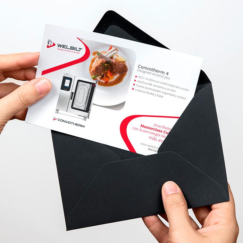 diseno invitacion feria estudio grafico en barcelona 1 - Elementos de comunicación para eventos