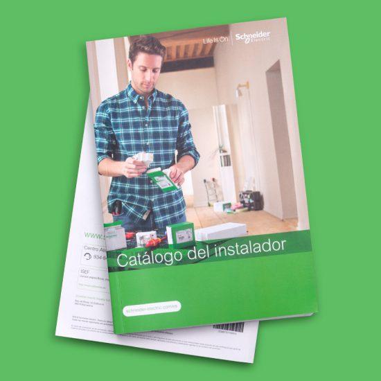 maquetacion de catalogo sector industrial 550x550 - Diseño de catálogo para sector industrial