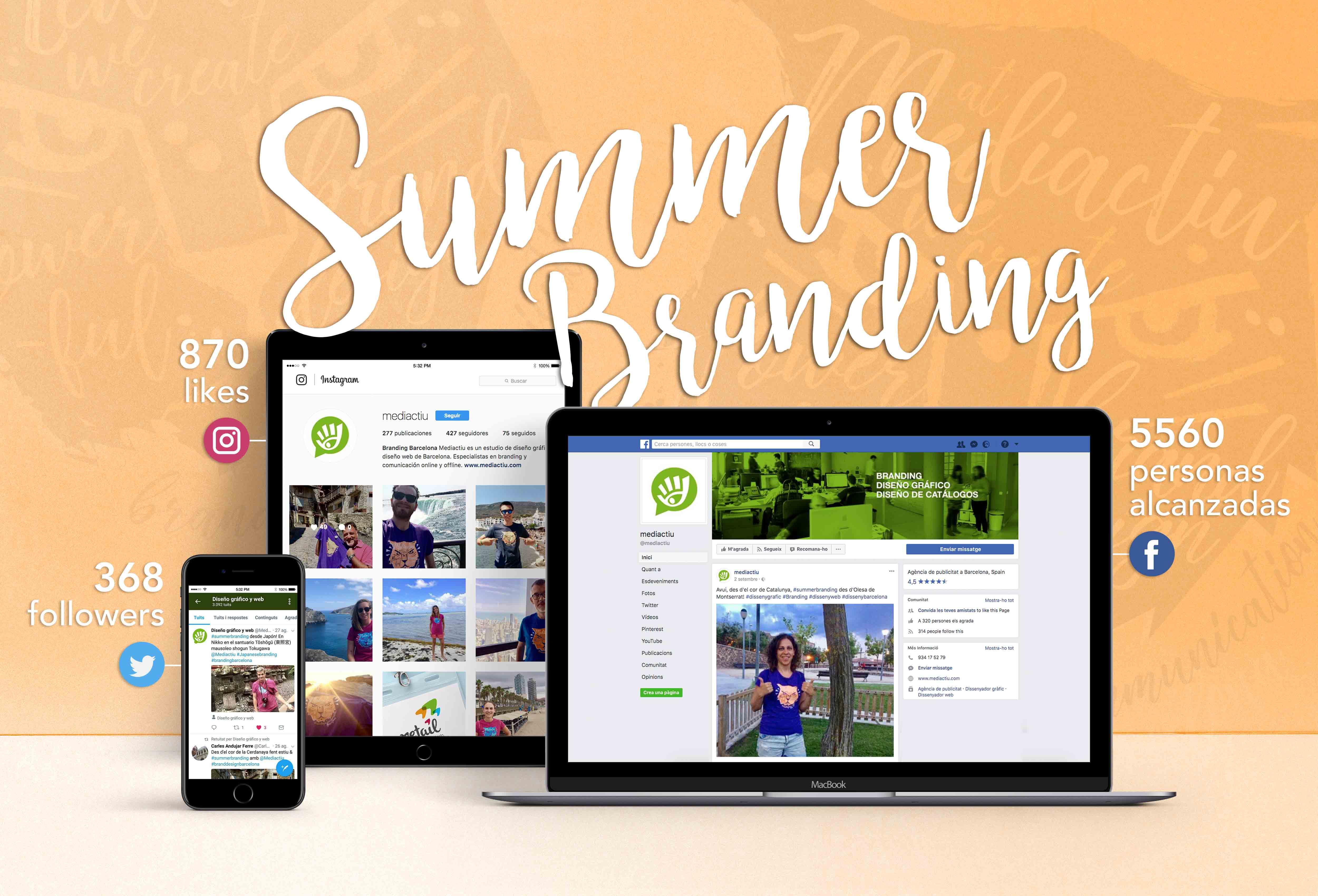 campana verano branding barcelona - ¿Eres de los que dejan la campaña de verano al azar o realizas una estrategia completa?
